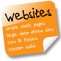 Websites: Simple, CMS, eCommerce, Custom Builds